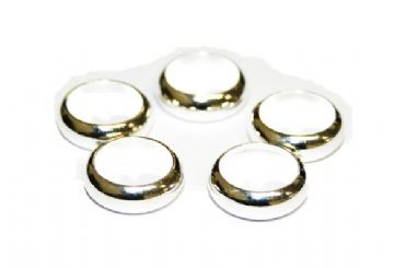65pcs  x 12* 4* 9 mm Closed rings - Silver Plated - S.F - WA195